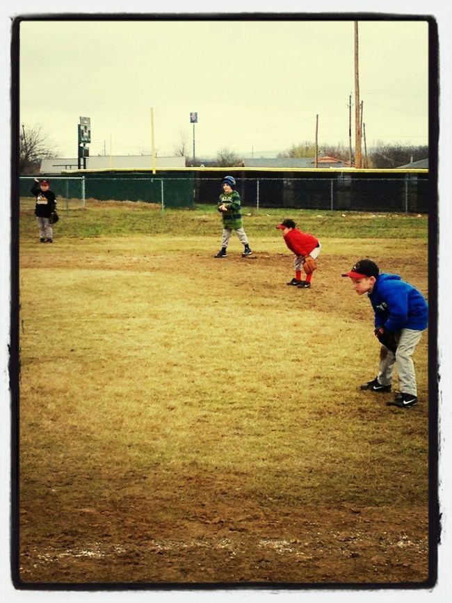 1st Day Of Baseball