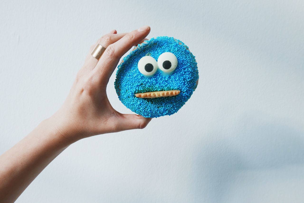 Cookie Monster  Colours Of Carnival Carnival Pfannkuchen Cookies Candy