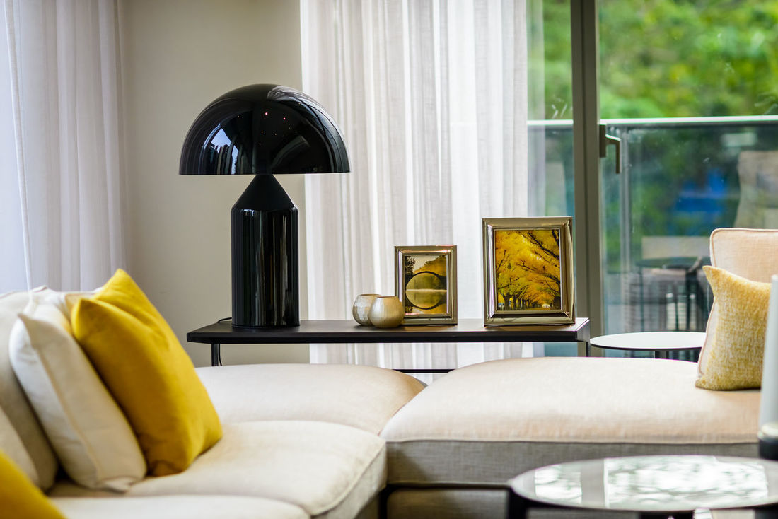 Bed Bedroom Cushion Day Elégance Home Interior Home Showcase Interior Huntergol Indoors  Luxury Luxury Hotel Modern No People Pillow Singaporelife Sofa Table Visitsingapore Yellow