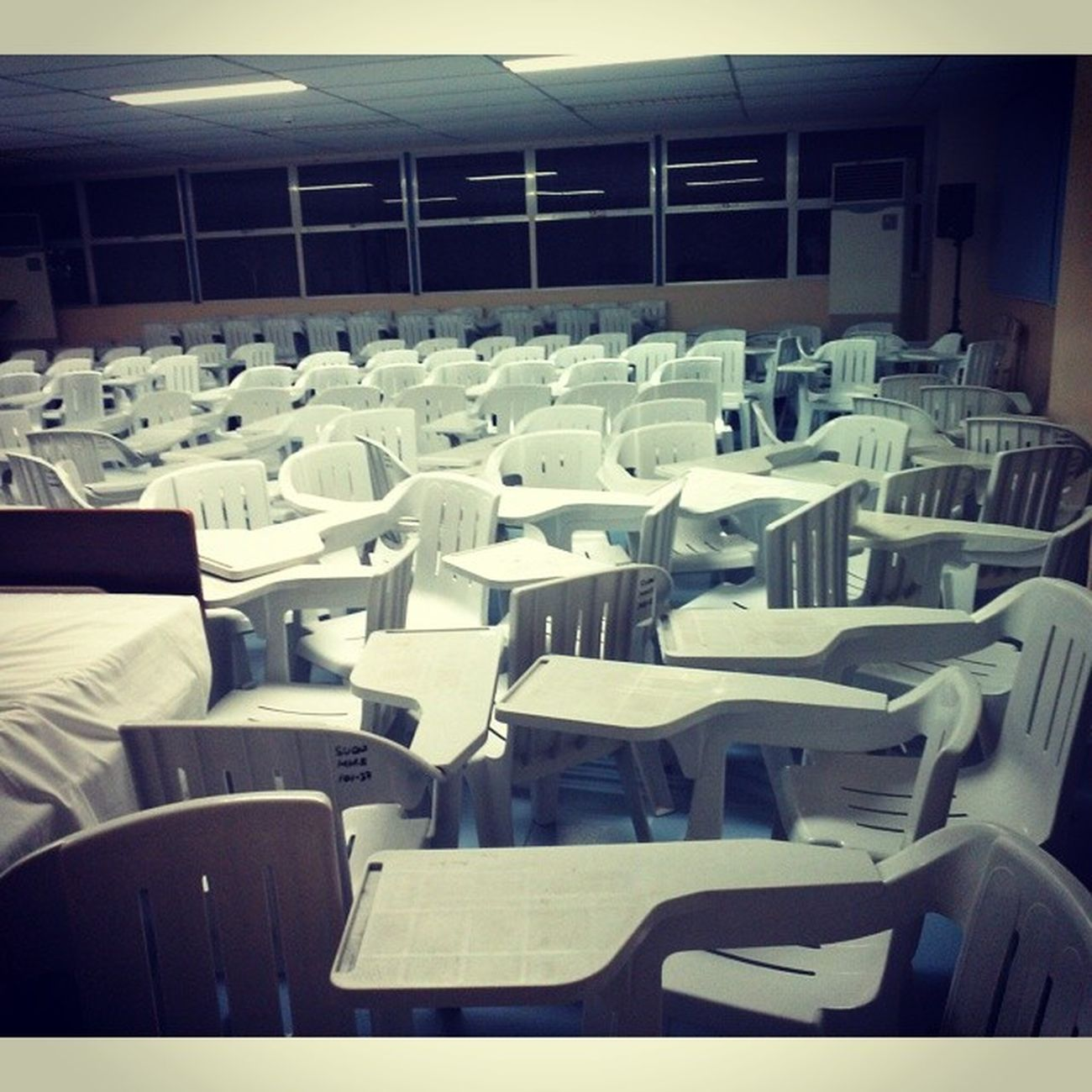 The Sea of Chairs NCM107A NursingLeadership SeminarPreps SUCN StudentNurses