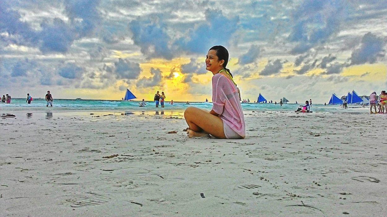 Eyeem Philippines Beachphotography Panoramic View EyeEm Sunset Whitebeach