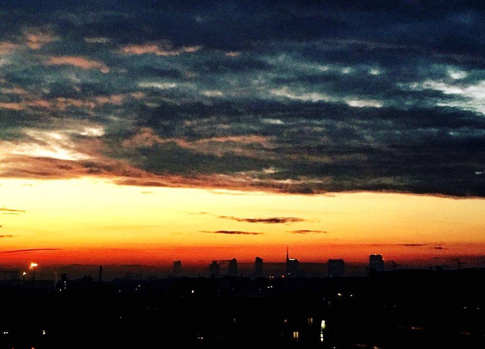 Sunset in Milan 😍🌆 First Eyeem Photo