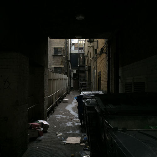 Abandoned Alley Architecture Building Built Structure Corridor Empty IPhoneography London Shadows No People Atmospheric Mobilephotography Narrow Outdoors Street Uk Messthetics London Lifestyle
