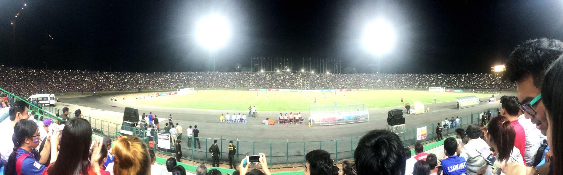 Football Soccer⚽ Cambodia Vs Apt Staduim  Lovekhmer