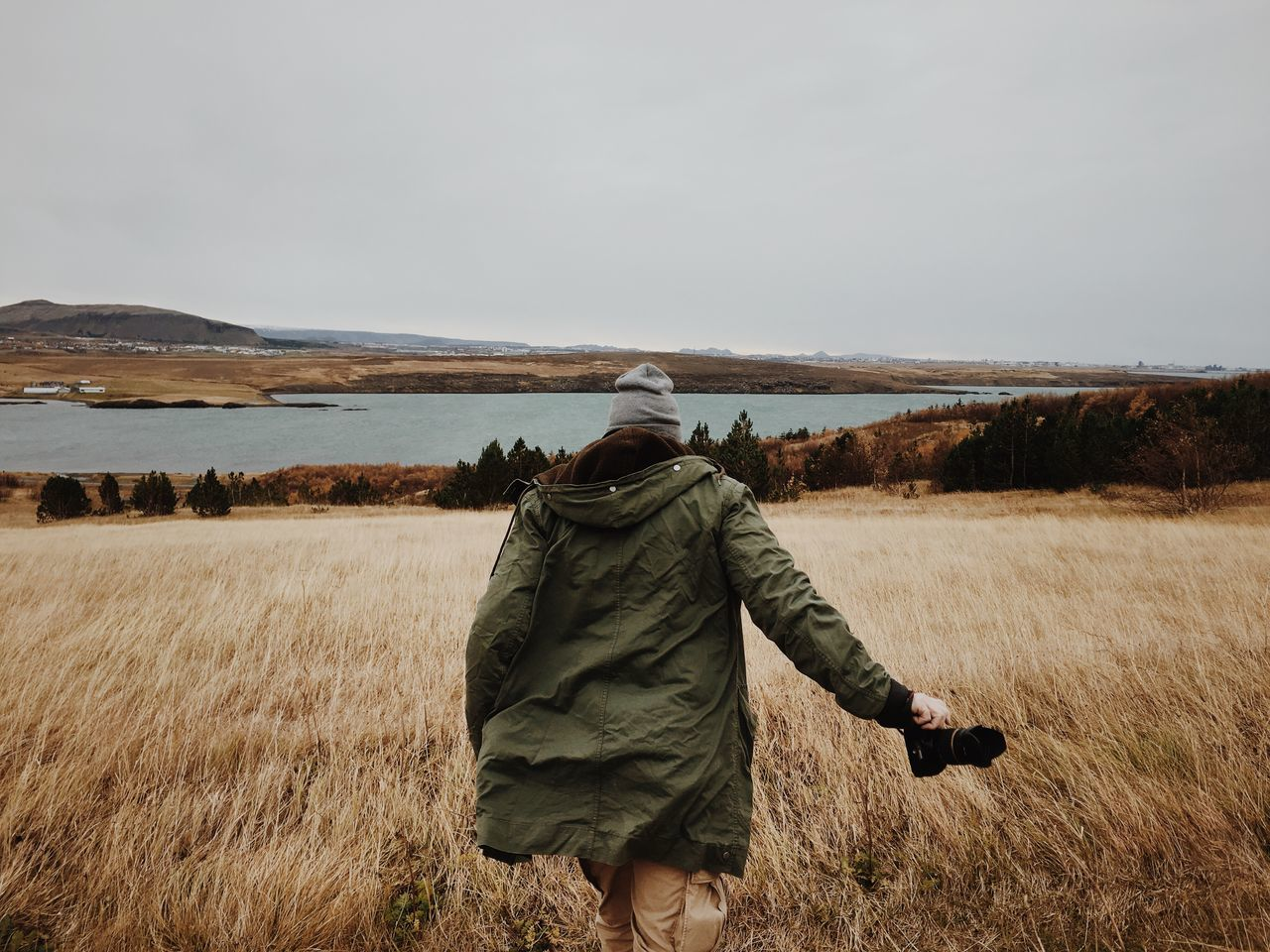 Beautiful stock photos of iceland, Beauty In Nature, Day, Field, Hood - Clothing