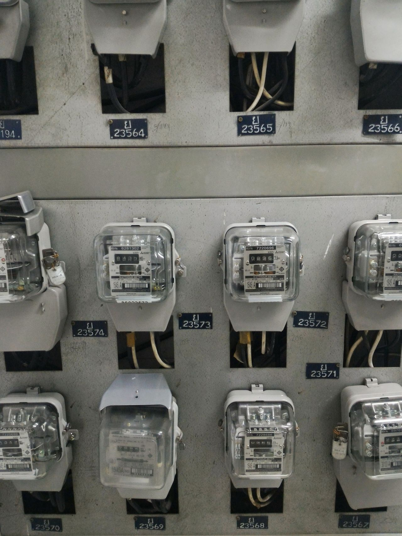 Electrical Equipment Electric Meters Meter - Instrument Of Measurement No People Indoors  City Condo