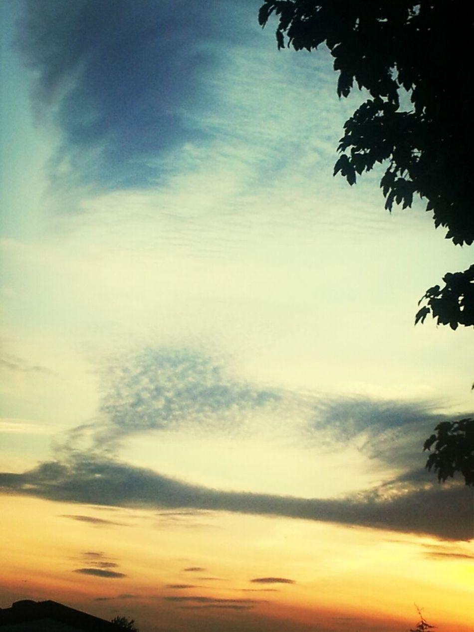 Sunset Sky Enjoying Life Clouds And Sky United Kingdom