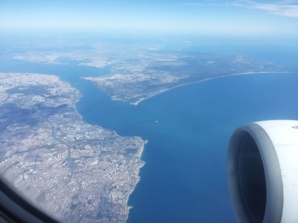 Travel Holidays Portugal Travelling ✈ TAP Air Portugal TAP A-319 Holiday And Relaxing Enjoying Life Taking Photos Aerial View Lisboa Portugal