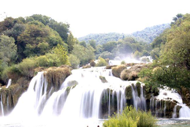 Beauty In Nature Croatia Flowing Water Krka Krka National Park Long Exposure Water Waterfall