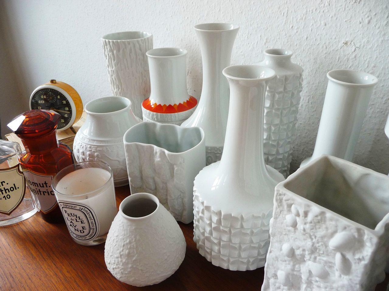 GERMANY🇩🇪DEUTSCHERLAND@ 2013 July White Vase Collections