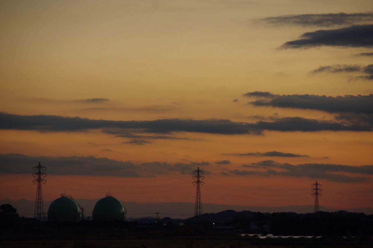お疲れさまでした。 夕暮れ時 Pentax K-3 Twilight Afterglow