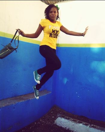 Sky High Taking Photos That's Me Check This Out Enjoying Life Hello World Cheese! Check This Out First Eyeem Photo Jamaica Drama Shot  Capture The Moment Outdoors Beautiful Day Skylovers Jumpshot