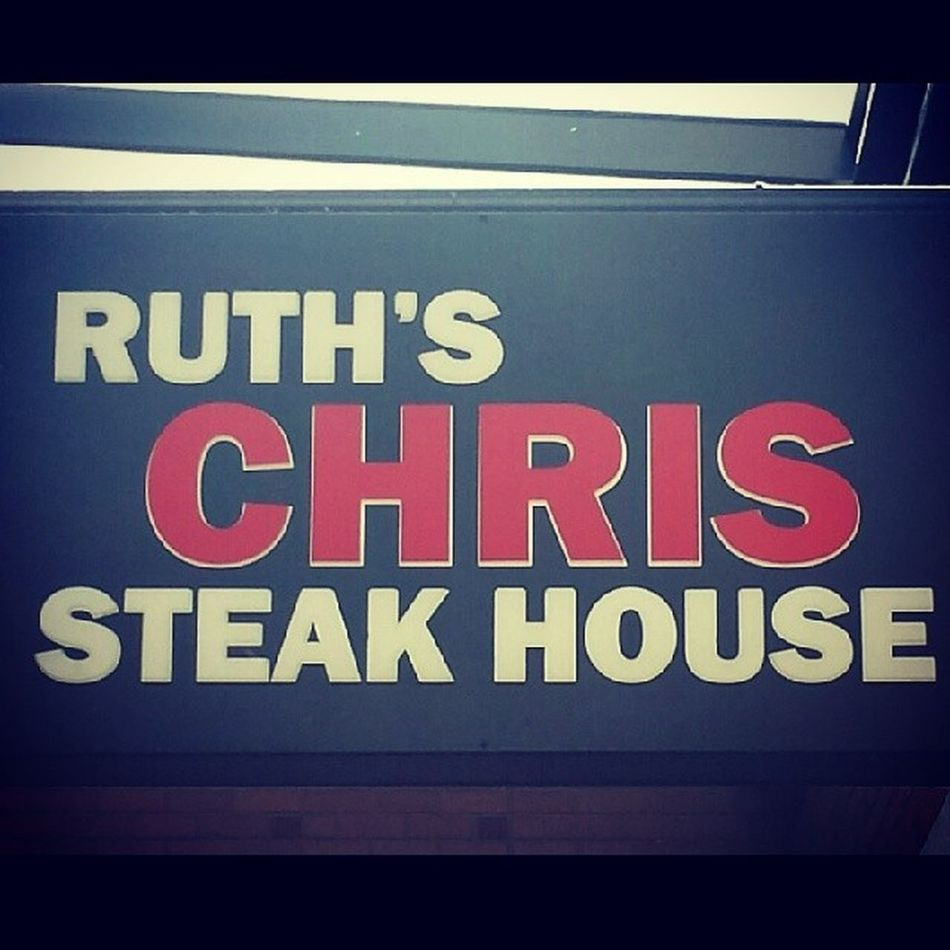 Having dinner at Ruth's Chris Steak House for Mother's Day. Oh and my waiter is really cute! Mothersday Ruthschris Ruthschrissteakhouse Steakhouse steak filet dinner cutewaiter cute hot garlicbutter fancy celebrate