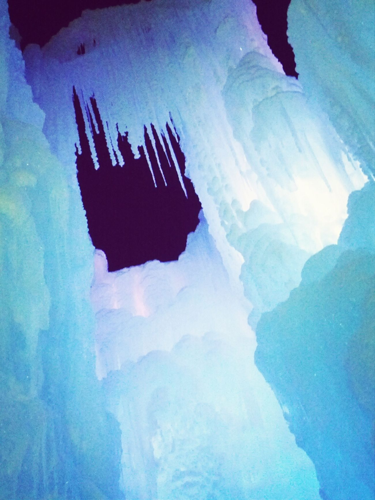 Inside Ice Castle