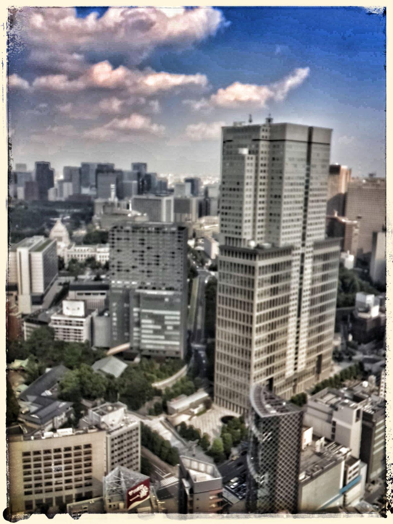 久しぶりに都心の高層ビルででお仕事 東京 Tokyo 都心 Metropolitan