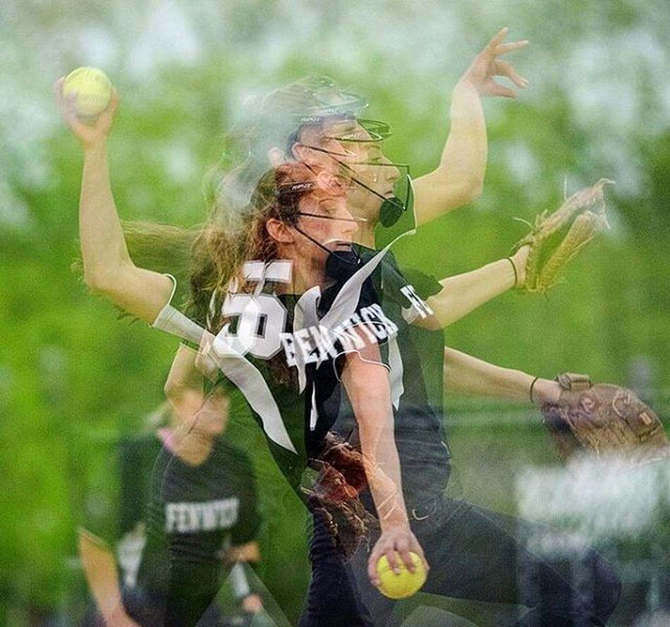 Pitch Softballplayer Sportsphotography Softball Sport Pitcher