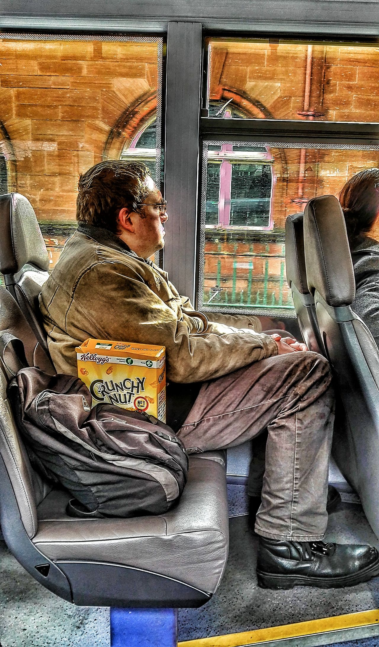 People Watching On The Bus Crunchy Nut