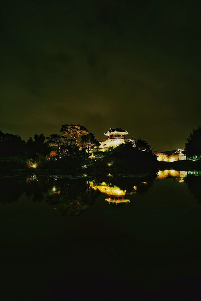 No People Landscape Nightscape 수원 화홍문 Korea