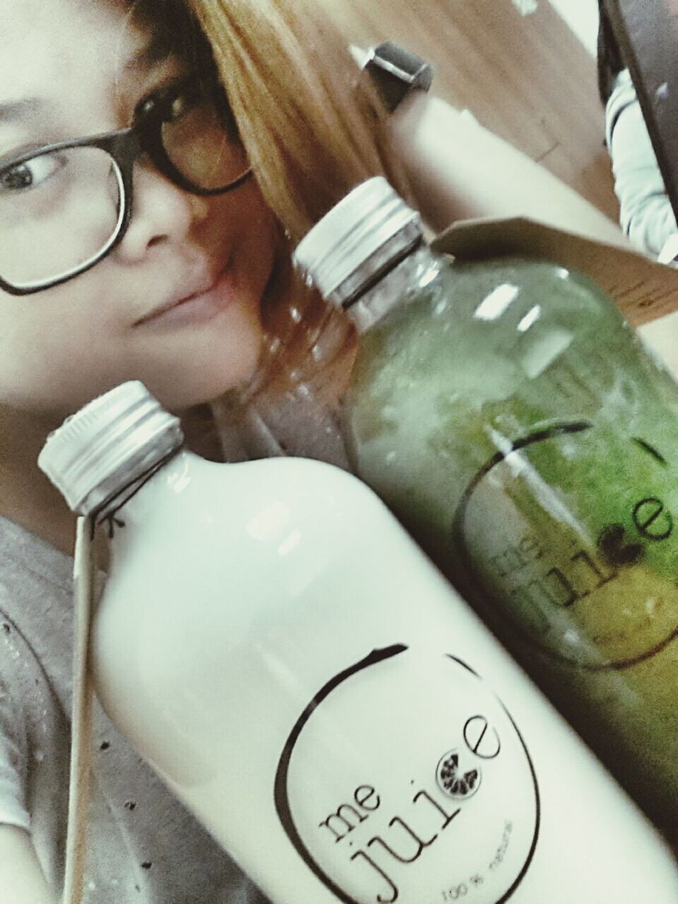me & me juice... you are what you drink :)