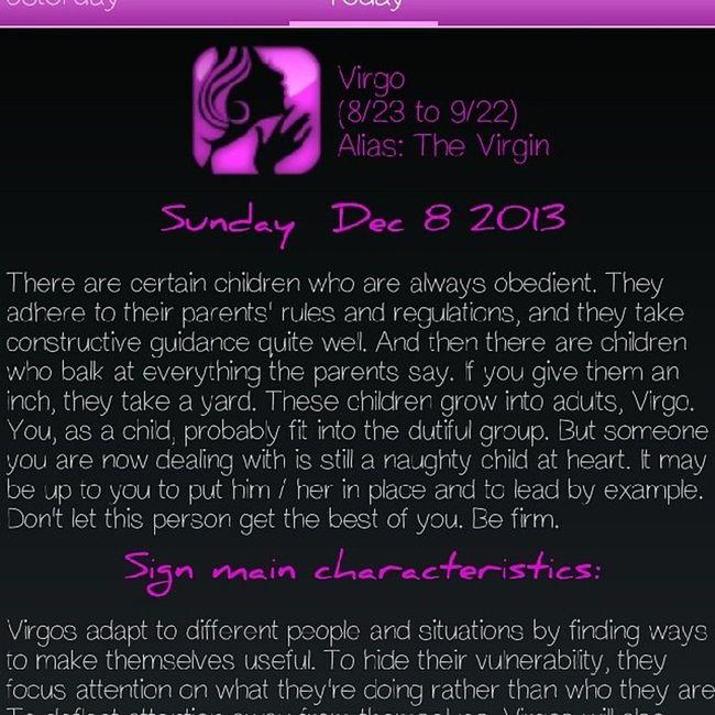 Virgo Takingadvantage Respect