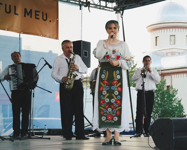 Singing loud... Music Musician Relaxing Eye4photography  Hanging Out Concert Concert Photography Made In Romania Traveling Hello World Enjoying Life Vscocam Travel Photography Taking Photos EyeEm Folklore Traditional Culture Traditional Clothing Traditional Costume Outdoors City Life Cityscape Here Belongs To Me My Favorite Photo
