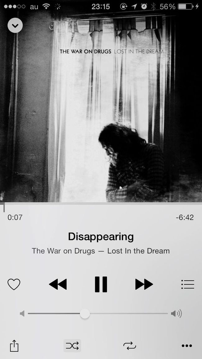 What Are You Listen To The War On Drugs