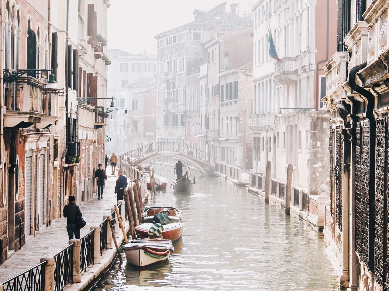 Venice, Italy Venice Canals Venicelife Cultures Gondolier Transportation City Outdoors People