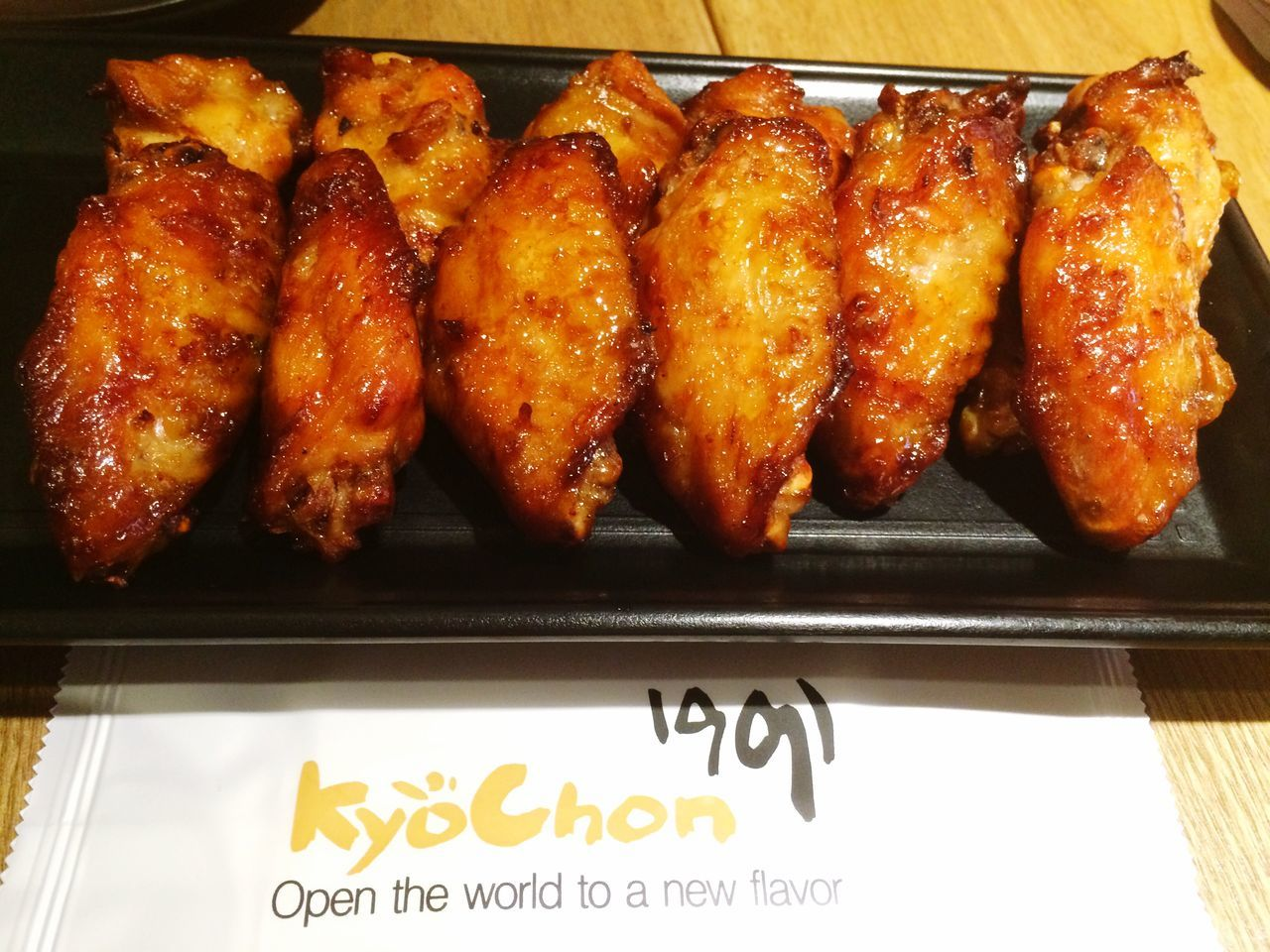 Kyochon Chicken Wings Korean Food Kriuks Ayambakar Foodporn