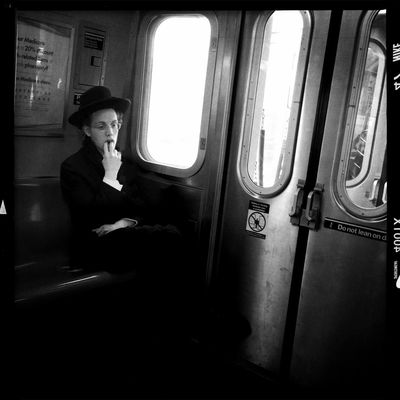 streetphoto_bw in New York City by Sheldon Serkin