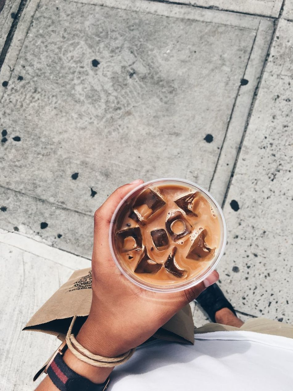 Coffee time Adult Adults Only Blogger Life Break City Activities Coffee Coffee To Go Day High Angle View Human Body Part Human Hand Human Leg Icecubes Iced Coffee Leisure Activity Lifestyle Low Section One Person Only Women Outdoors People Personal Perspective Shopping Togo Togo Coffee