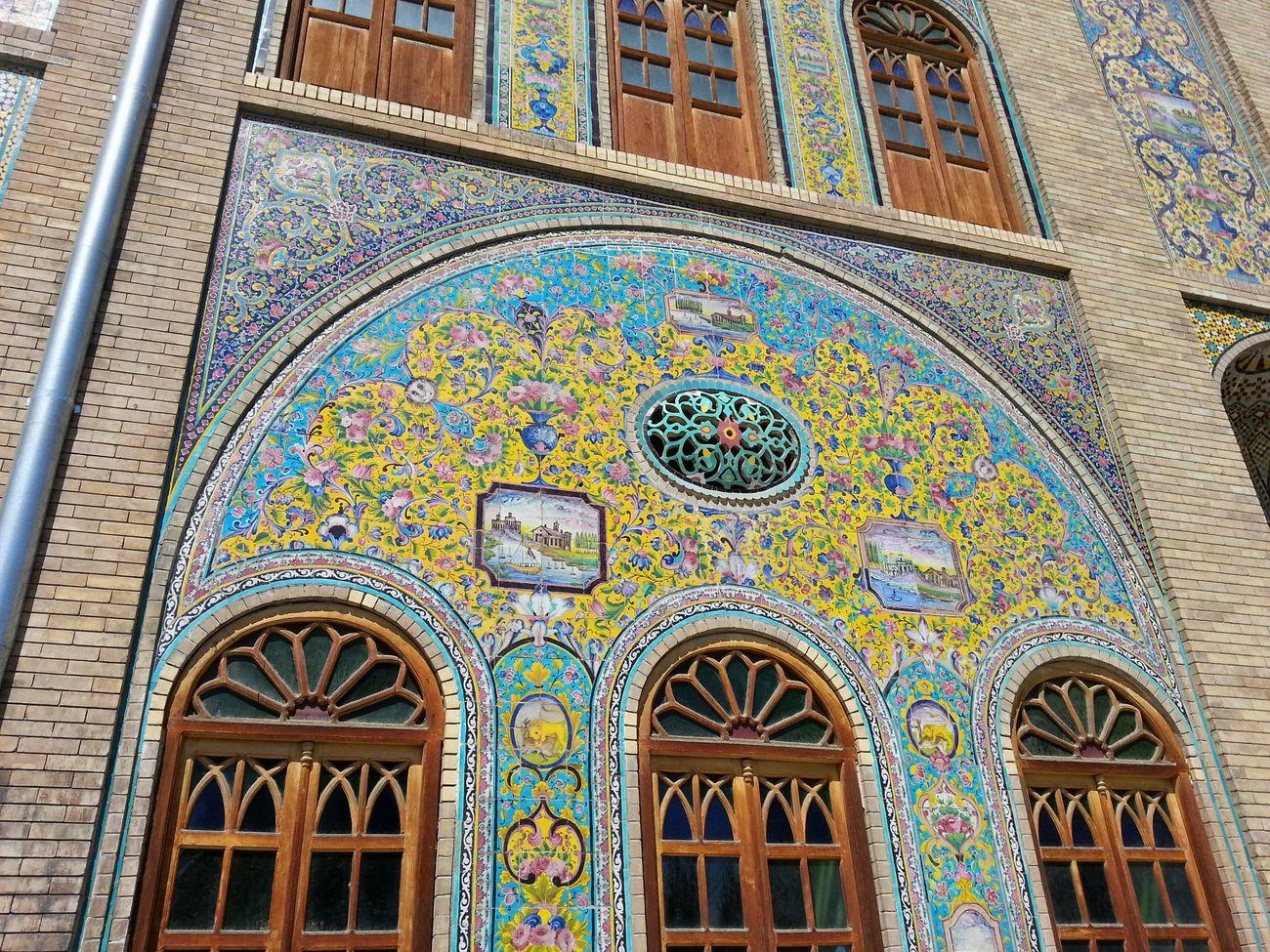 Kakhe Golestan Golestan Palace Tehran Qajar My City Tehran
