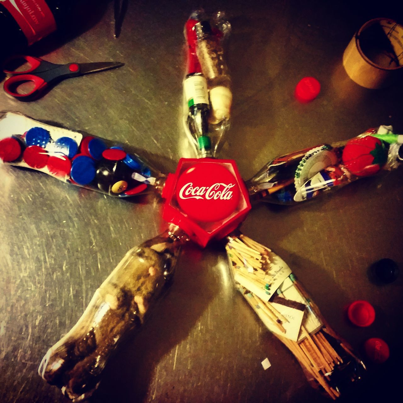 Parol 1 : Parol Of ( My Favorite ) Things Coca-Cola ❤ Sarisaringhappiness PaskoNa