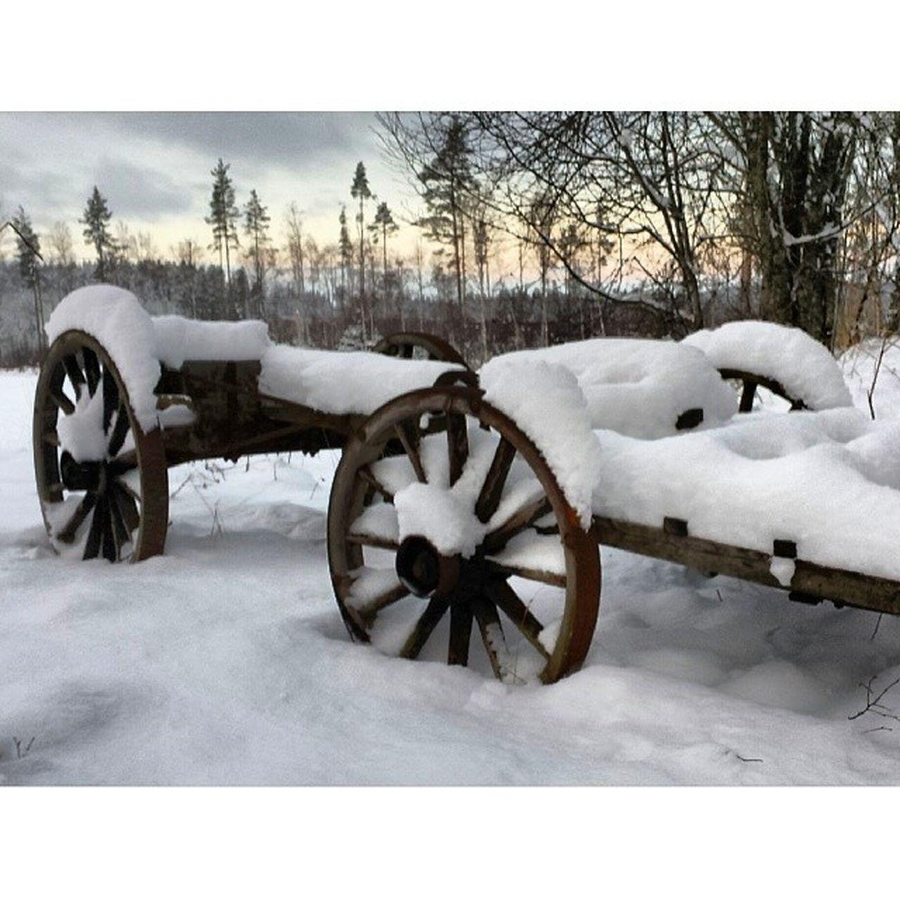 Leksand Instadalarna Stillhet Hjortnäs Vinter