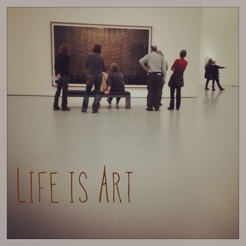 Art Photography At An Exhibition Andreas Gursky