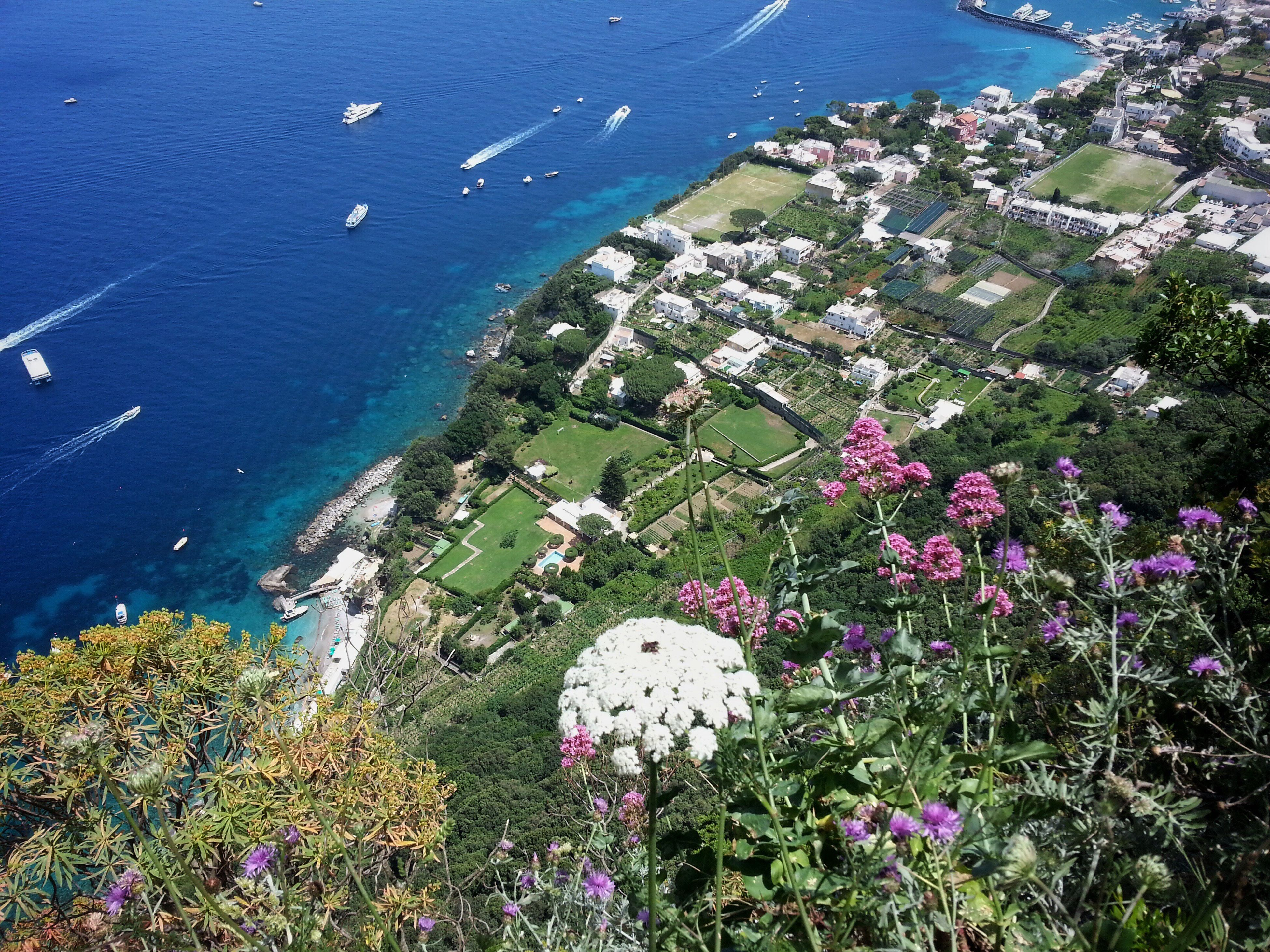 From way above.. Looking Down View View From Above Nature Sea Holidays Italy Shore Sunny Day