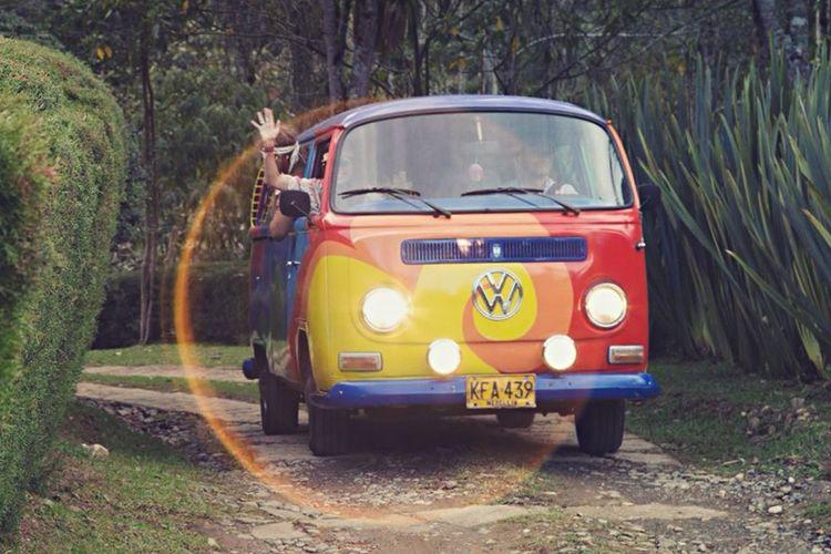 Volkswagen Van Hippie Acid