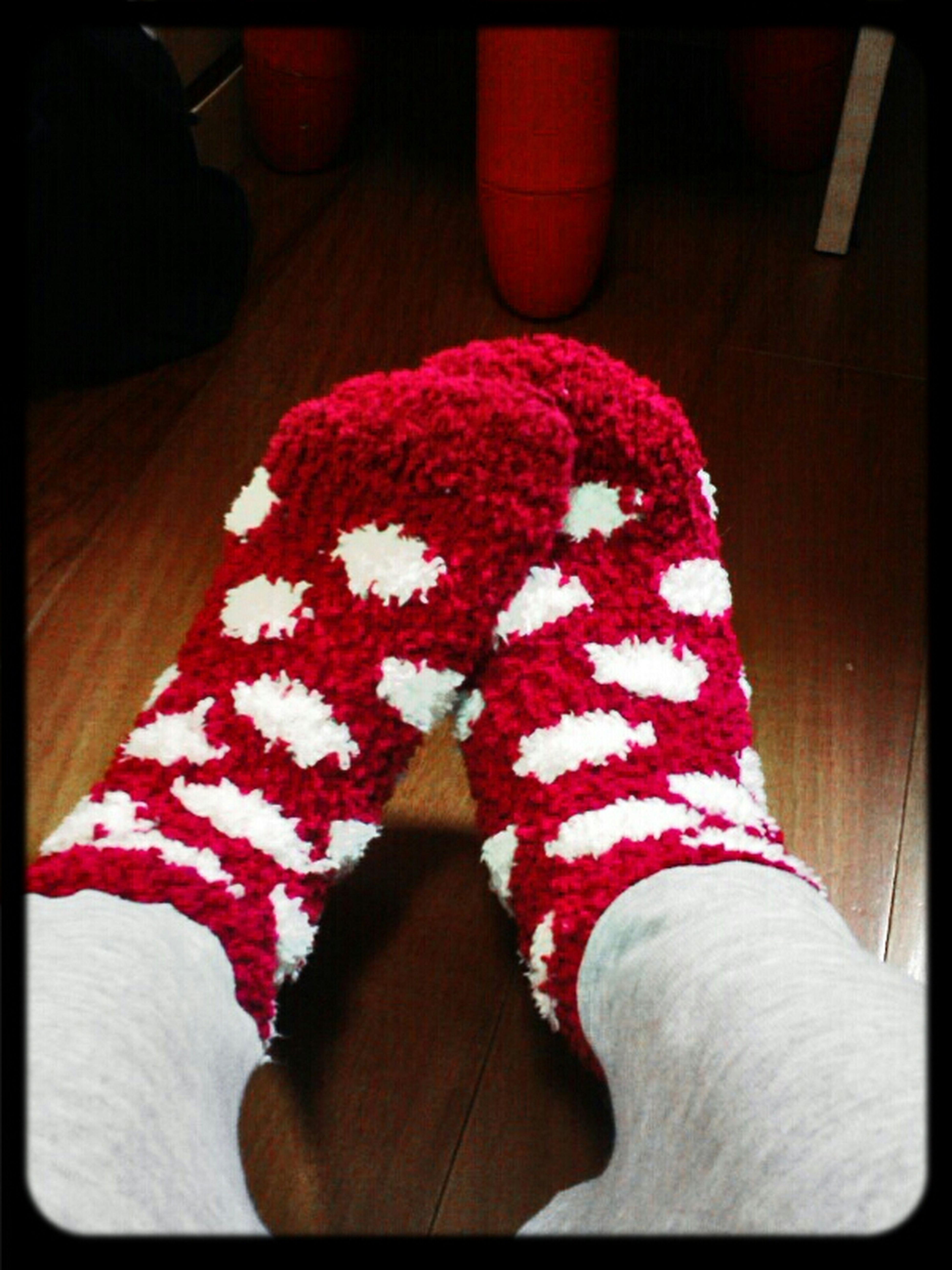 Wearing Socks