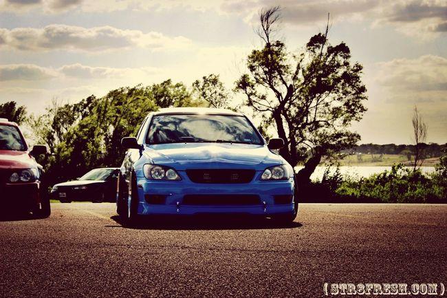 drewski's very low and very blue lexus is300 Lowcars Lexus IS Texas Style Stance