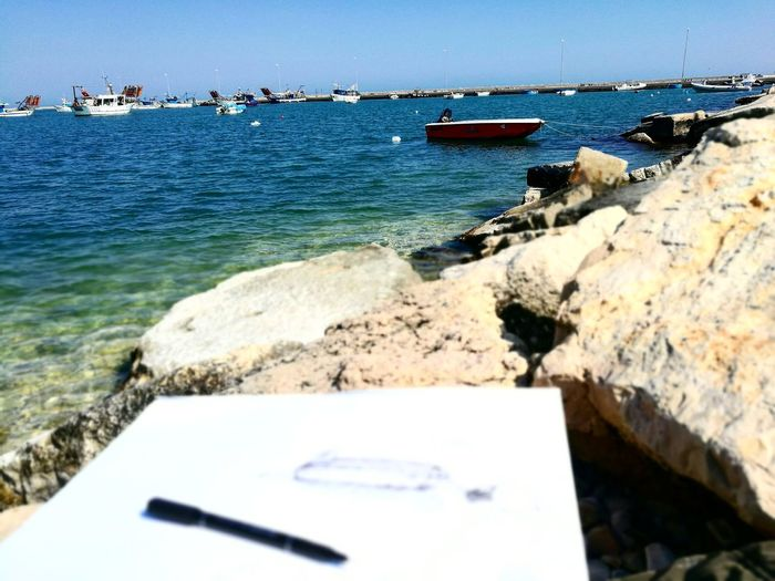 Water Drawing ✏ The Power Of The Sea Take Your Time Get Carried Away Peace Of Mind The Bluest Sea Outdoors Simple Beauty