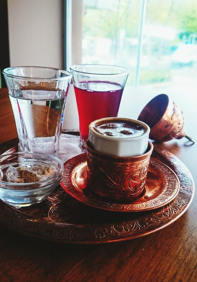 Kahve keyfinden başka dencek söz yok çok leziz Türkkahvesi Keyif Muhtesemlezzet Eye4photography  EyeEm Best Shots Good Morning