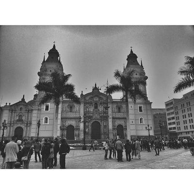 Lima Peru Life Black &white