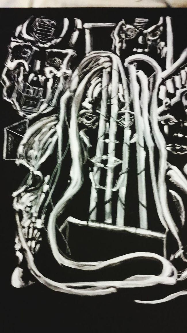 EmbracedEntrapped Art, Drawing, Creativity BLINDsided STUDio Selftaughtartist ArtWork Artist Ink Painting