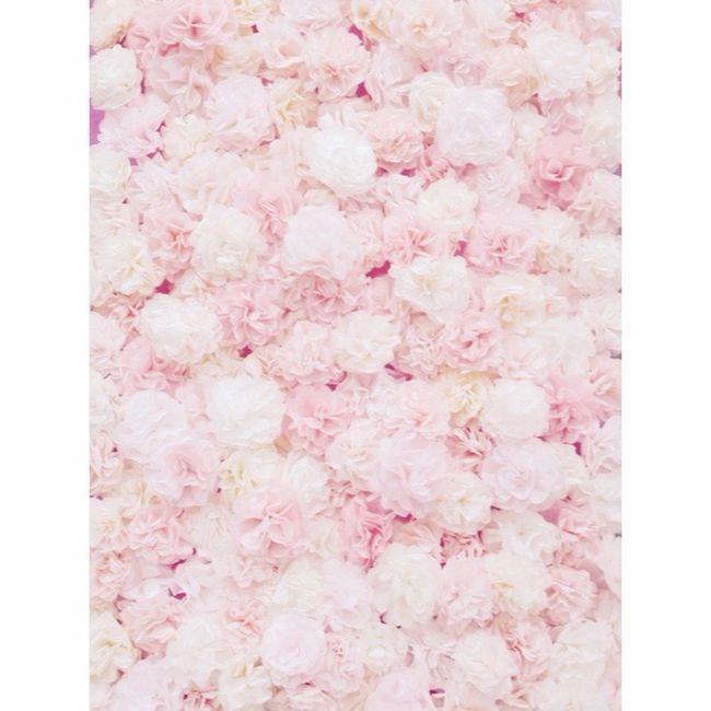 Flower board 1⃣☑️ Coffee Filter Food Color Flower Pink White