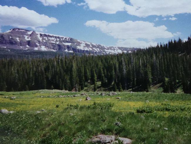 Edge Of The World Rocky Mountains Colorado Camping Mountains