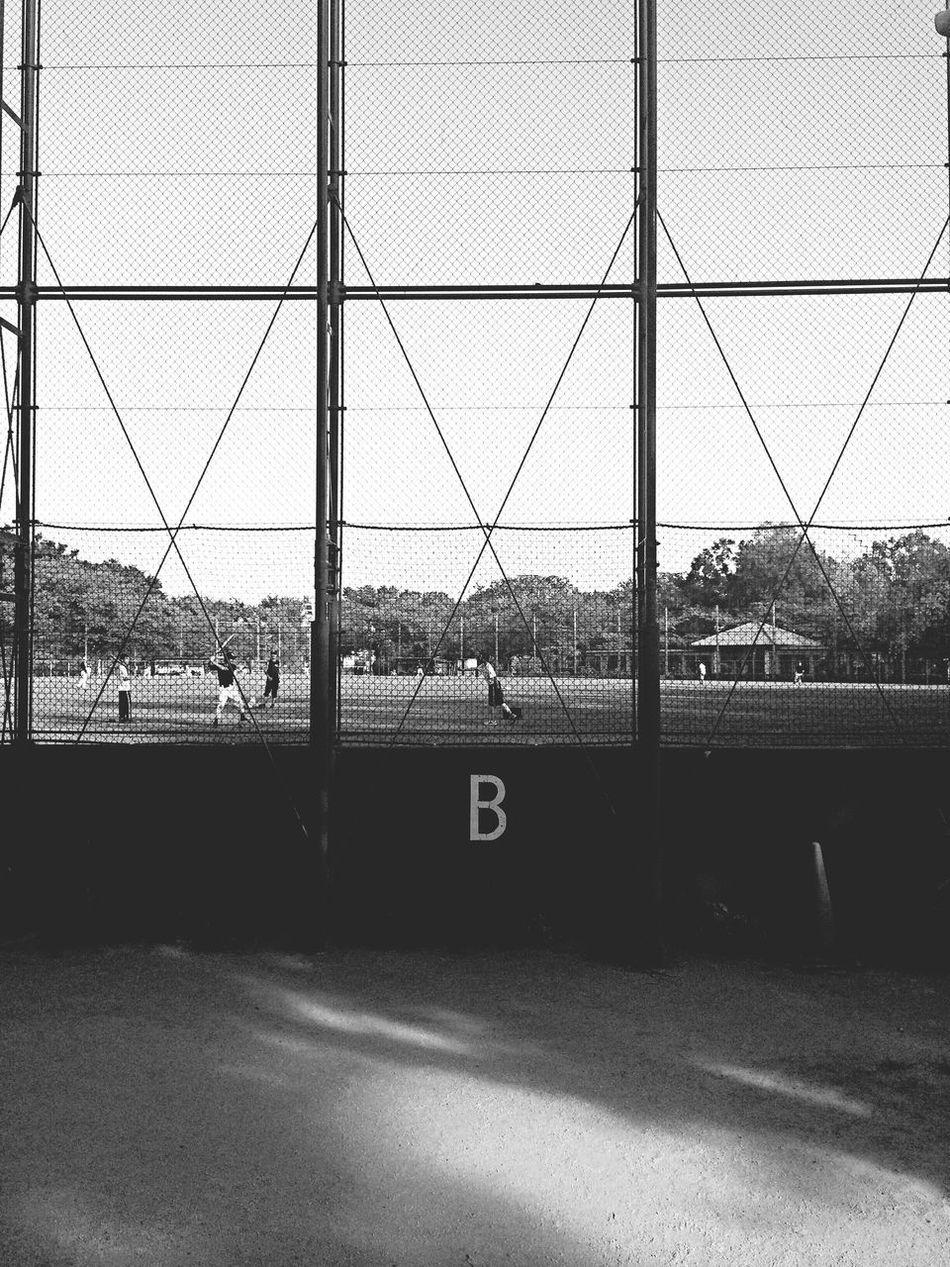 Baseball Ground Black&white Black & White Black And White Blackandwhite