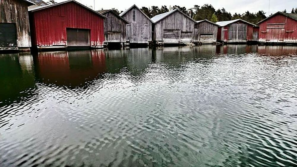 The Great Outdoors With Adobe The Great Outdoors - 2016 EyeEm Awards Sky_collection Baltic Sea Balticsea åland  Aland Islands Finland Arcipelago Boathouse Boathouses Boathouse Row EyeEmBestPics Summertime Nature_ Collection  Outdoors Building Exterior Built Structure Idyllic Architectural Feature Reflection EyeEm Best Edits Travel The Essence Of Summer Buildings & Sky