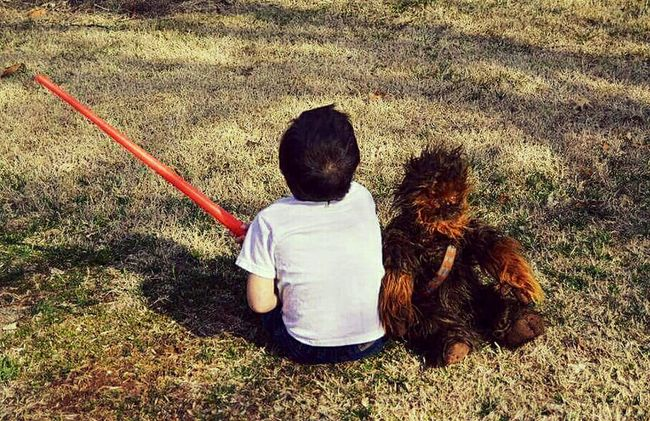 Han & Chewie Star Wars Han Solo Chewbacca Star Wars Inspired Star Wars Love Han Iloveyou Iknow Kidsphotography Kids Imagination Costume Cosplay