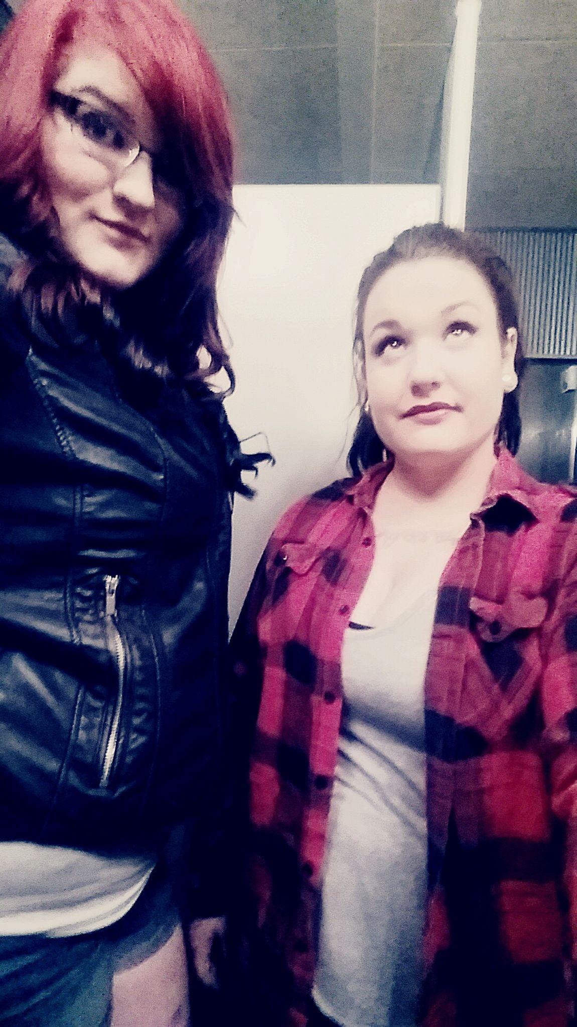 Our friendship on point! Bestfriend Showmeyourtude Tattooedgirls Sexyladies