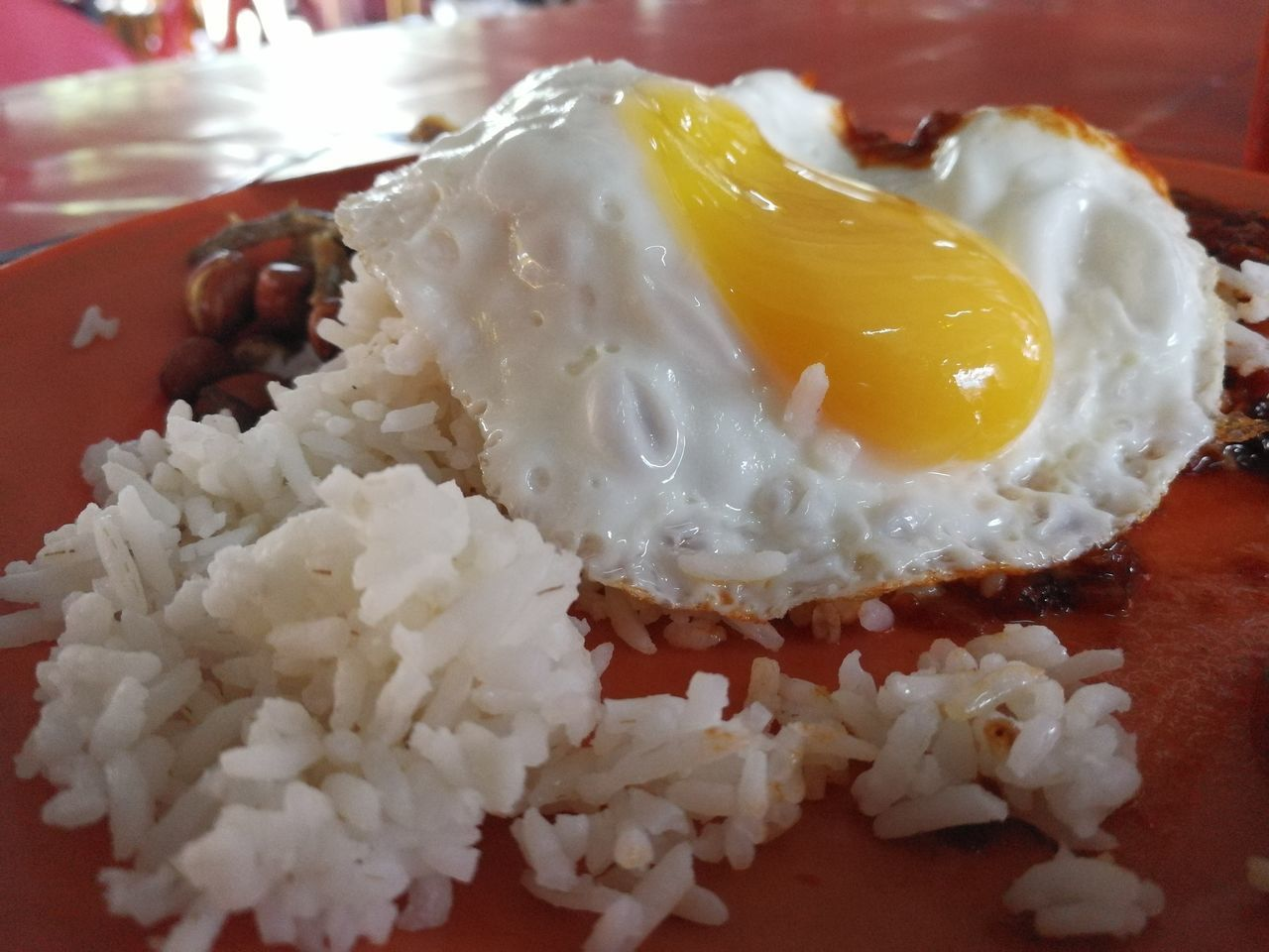 food and drink, food, ready-to-eat, freshness, temptation, indulgence, serving size, indoors, plate, close-up, rice - food staple, no people, egg yolk, unhealthy eating, gourmet, appetizer, homemade, boiled, fried rice, day