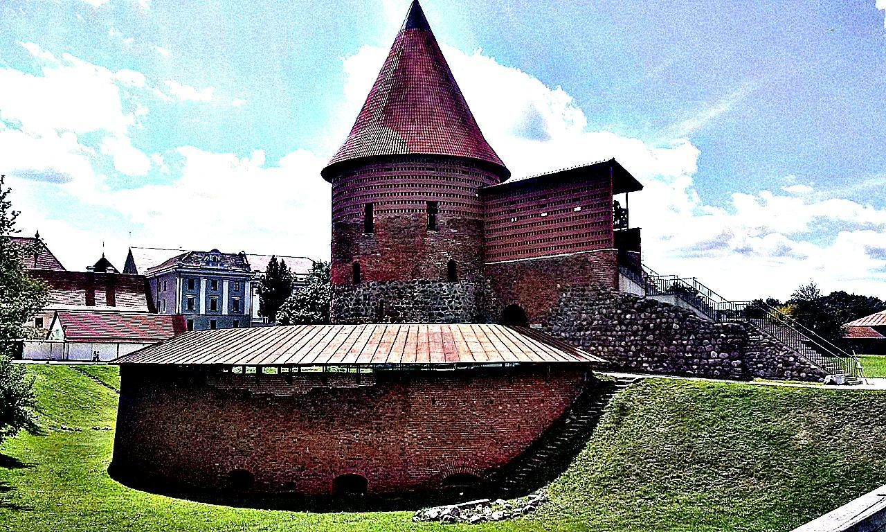 Architecture Castle City HDR Kaunas Lithuania Photography Town